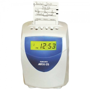 AMANO MRX-35 ELECTRONIC - CALCULATING TIME CLOCK