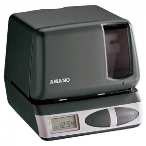 AMANO PIX-21 PORTABLE - TIME CLOCK/TIME STAMP