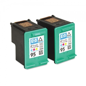 HP BR DESKJET 5740 - 2-#95 SD TRI COLOR INKS