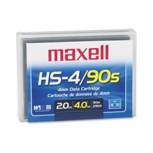 MAXELL 4MM DDS-1 90M - 1-2/4GB DATA TAPE