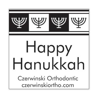 Hanukkah Cheer Design Insert