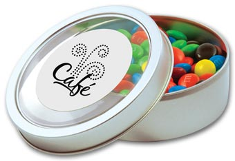 Large Circular Confection Tin