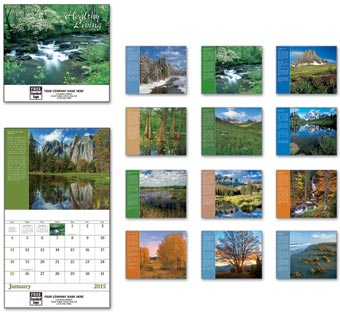 2014 Healthy Living Wall Calendar