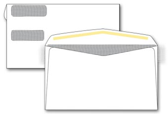 Double Window Confidential Envelope