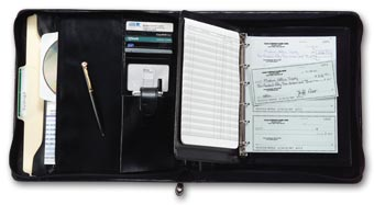 3-On-A-Page Deskbook Portfolio, 6 Ring
