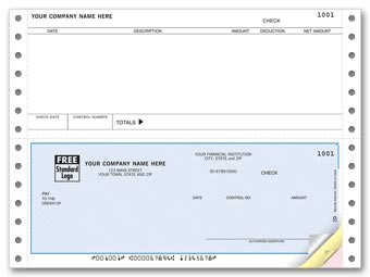 Continuous Checks, Accounts Payable, Great Plains Compatible