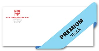 Premier Envelope, gummed, 1 or 2 ink colors, Crane stocks