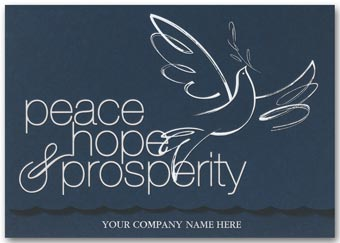 Dove of Peace Holiday Cards