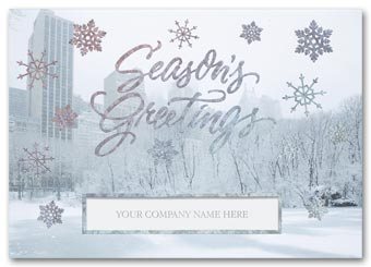 Bejeweled Park Holiday Card
