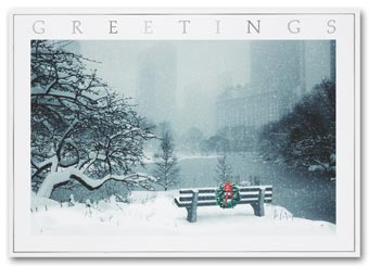 Silence Holiday Card