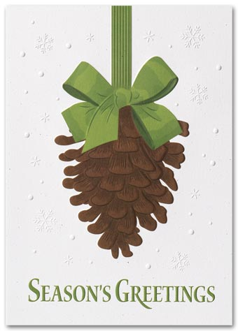 Ever Green Recycled Paper Holiday Cards