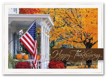 Golden Days Holiday Card
