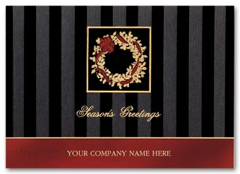 Dramatic Elegance Holiday Card