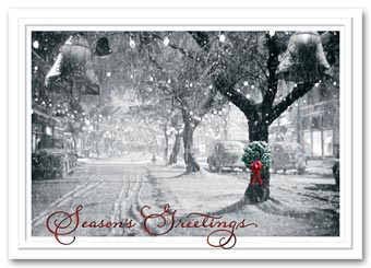 Memory Lane Holiday Card