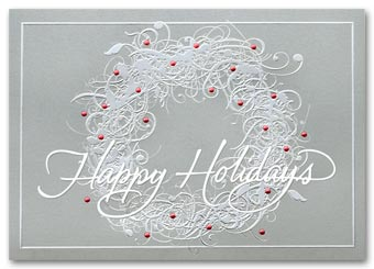 Sterling Sentiments Holiday Card