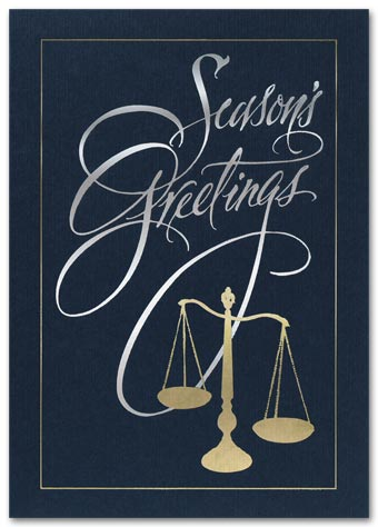 Golden Scales Holiday Card