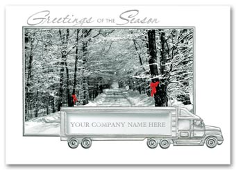 Welcoming Road Holiday Cards