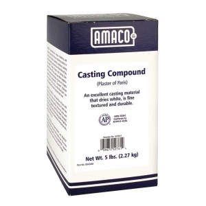 AMACO Plaster of Paris, 5 lb.