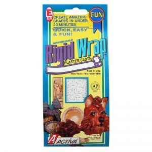 "Rigid Wrap Plaster Cloth, 4""x 180"""