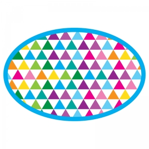 COLOR TRIANGLES MAGNETIC WB ERASER