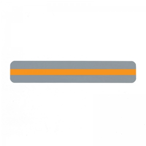 "Sentence Strip Reading Guide, 1.25"" x 7.25"", Orange"