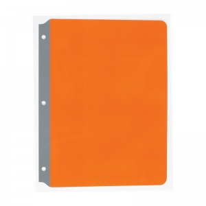 "Full Page Reading Guide, 8.5"" x 11"", Orange"