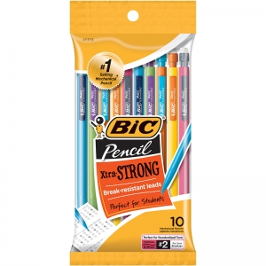 BIC MECHANICAL PENCILS 0.9MM 10PK
