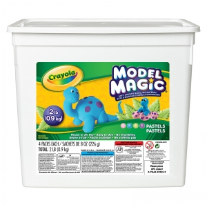Crayola Model Magic Pastel Bucket, 2 Lb