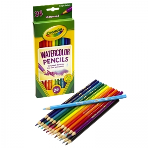 Crayola� Watercolor Pencils, 24 colors