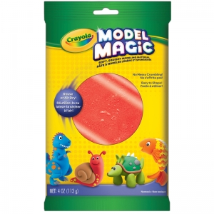 Crayola Model Magic Modeling Compound, Red, 4 oz.