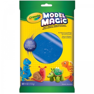 Model Magic Modeling Compound, Blue, 4 oz. Pouch