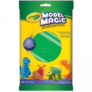 Crayola Model Magic Modeling Compound, Green, 4 oz.