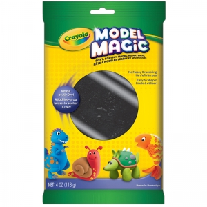 Crayola Model Magic Modeling Compound, Black, 4 oz.