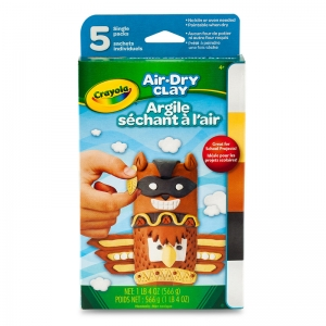 5 ct. Air-Dry Clay Variety Pack, Neutral
