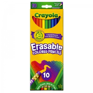 Crayola� Erasable Colored Pencils,