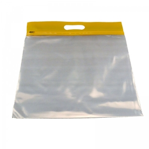 ZIPAFILE STORAGE BAGS 25PK YELLOW