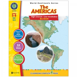 WORLD CONTINENTS SERIES THE  AMERICAS BIG BOOK
