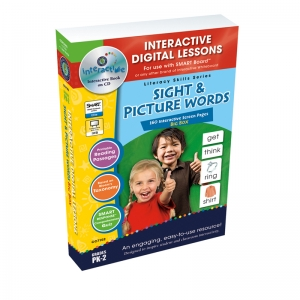 Sight & Picture Words Big Box Digital Lesson Plan Book