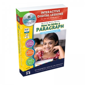 How To Write A Paragraph Interactive Whiteboard Lessons Book