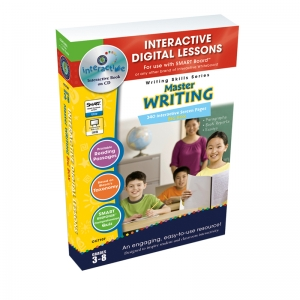 Master Writing Big Box Interactive Whiteboard Lessons Book