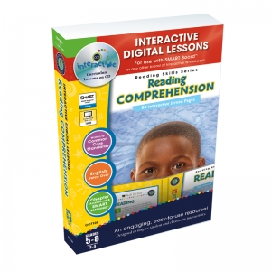 Reading Comprehension Interactive Whiteboard Lessons Book