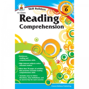 SKILL BUILDERS GR 6 READING  COMPREHENSION