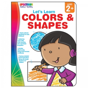 Let's Learn Colors & Shapes Workbook, Grade Toddler-PK