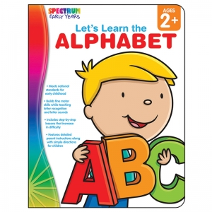 Let's Learn the Alphabet Workbook, Grade Toddler-PK