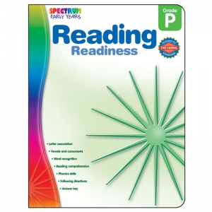 Reading Readiness Workbook, Grade PK
