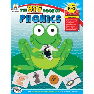 The Big Book of Phonics Resource Book, Grade K-3