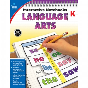 Interactive Notebooks: Language Arts Resource Book, Grade K