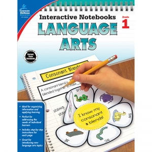 Interactive Notebooks: Language Arts Resource Book, Grade 1