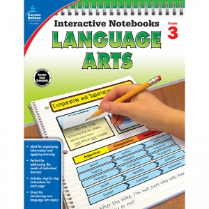 Interactive Notebooks: Language Arts Resource Book, Grade 3