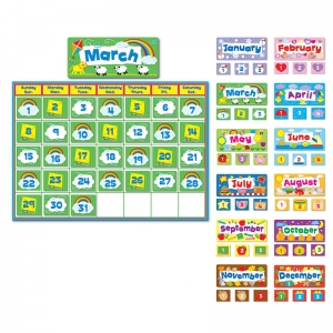 Complete Calendar Kit Bulletin Board Set